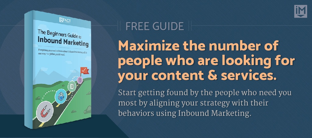 The Beginners Guide to Inbound Marketing