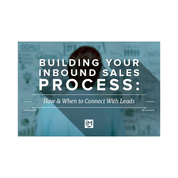 Inbound Marketing Ebook - Building Your Inbound Sales Process