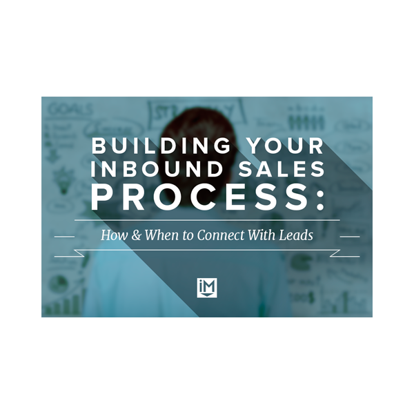 Inbound Marketing Ebook - Building Your Inbound Sales Process