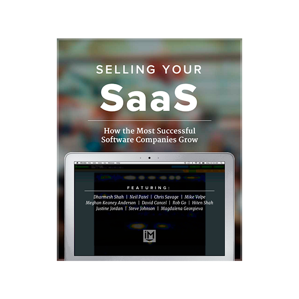 Inbound Marketing Ebook - How to Grow Your Software Company