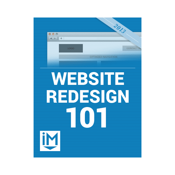 Inbound Marketing Ebook - Website Redesign 101