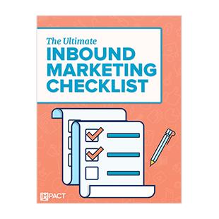 Inbound Marketing Ebook - The Ultimate Inbound Marketing Checklist