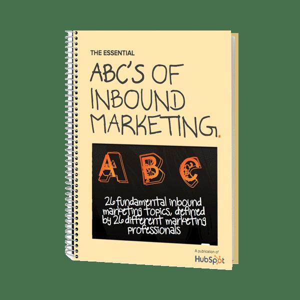Inbound Marketing Ebook - The ABCs of Inbound Marketing