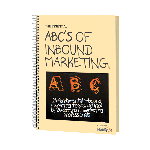Inbound Marketing Ebook - The ABCs of Inbound Marketing