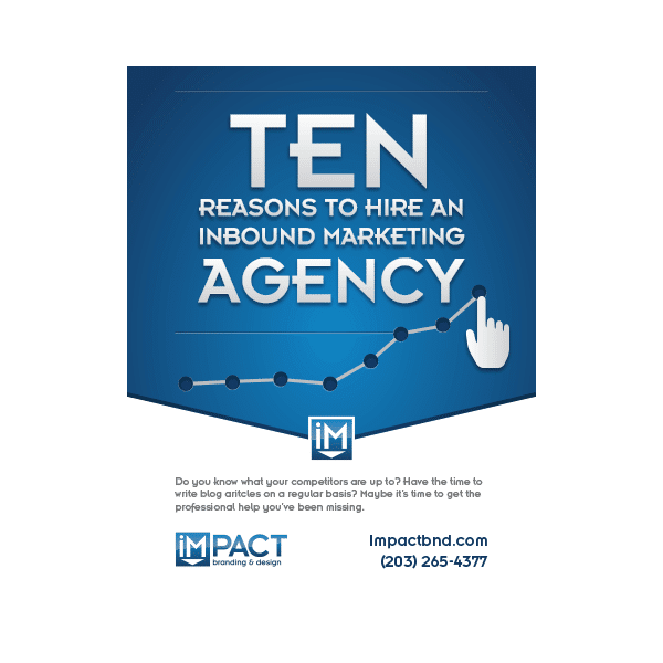 Inbound Marketing Ebook - 10 Reasons to Hire an Inbound Marketing Agency