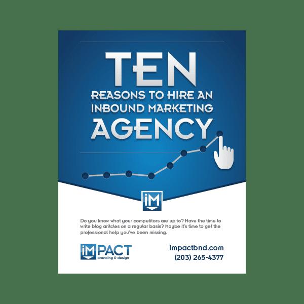 Inbound Marketing Ebook - 10 Reasons to Hire an Inbound Marketing Agency