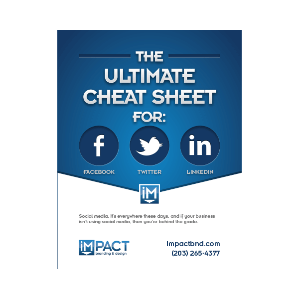 Inbound Marketing Ebook - The Ultimate Cheatsheet for Facebook, Twitter and LinkedIn