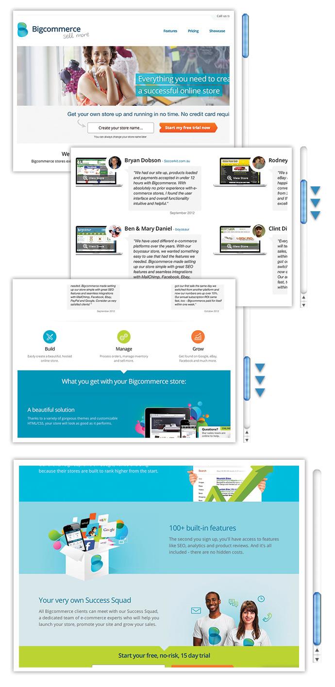 Inbound Marketing Web Design Big Commerce