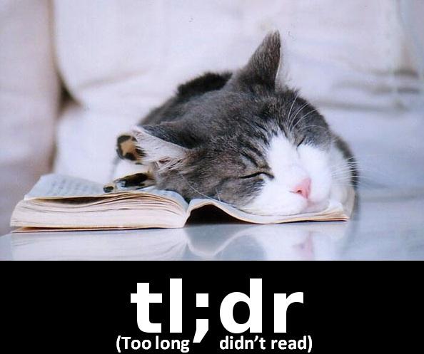 tl;dr Cat