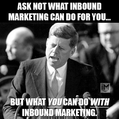 Inbound marketing meme