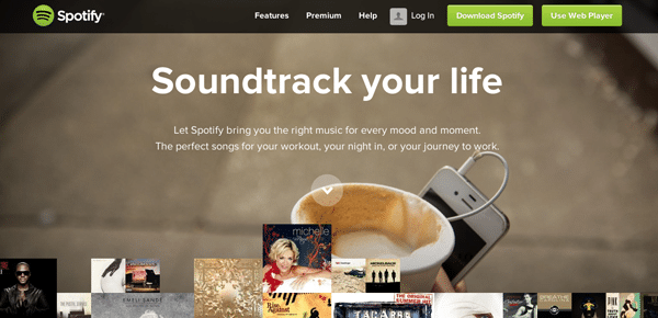 Value Proposition Example - Spotify