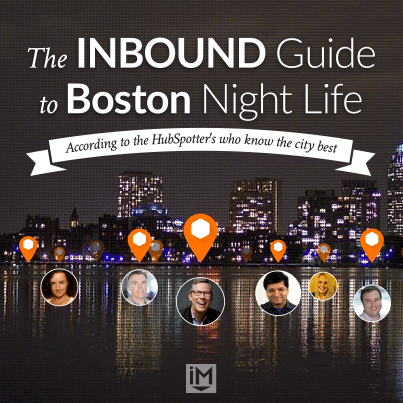 The INBOUND Guide to Boston Night Life [Infographic]