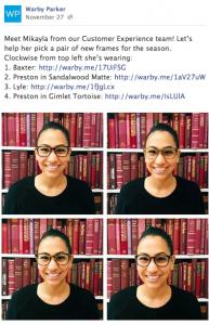 Warby-Parker-Social-Media