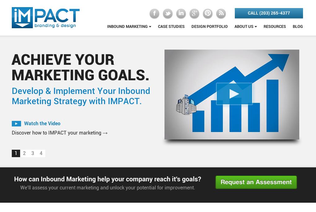 Website Redesign - IMPACT