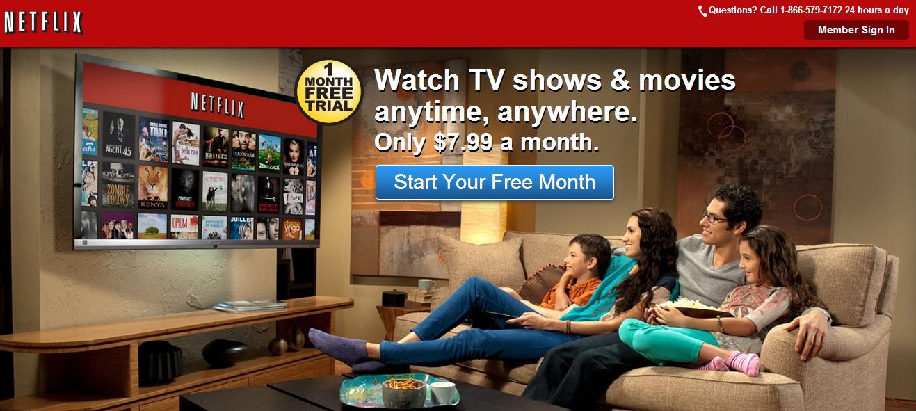 Netflix Incentive CTA