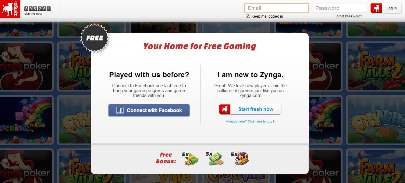 Zynga Segmentation CTA