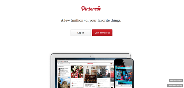 Value Proposition Example - Pinterest