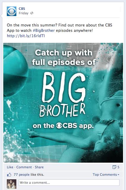 CBS  Big Brother