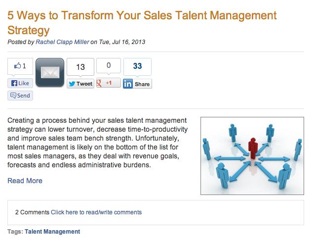 Force Management Blog