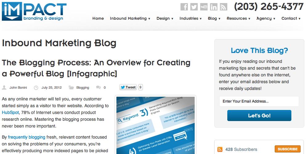 IMPACT Inbound Marketing Blog