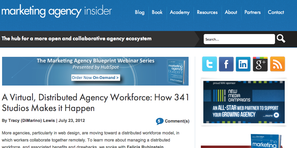 Marketing Agency Insider Inbound Marketing Blog