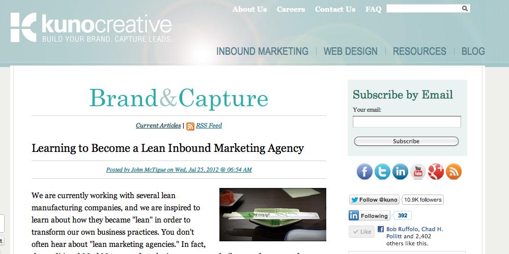 Kuno Inbound Marketing Blog