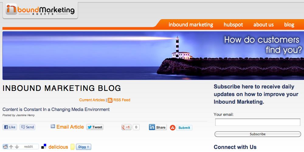 Inbound Marketing Agents Blog