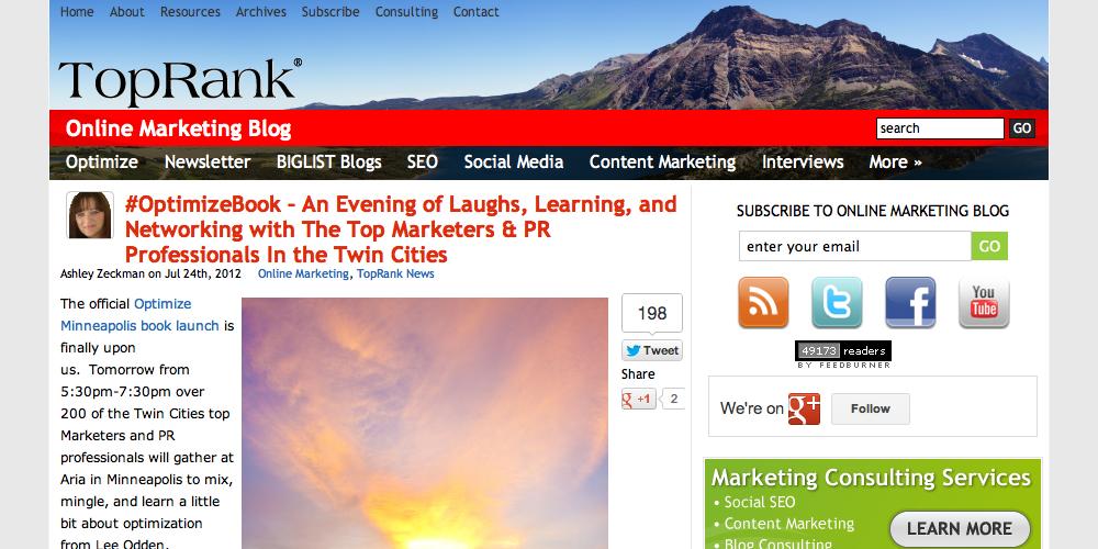 TopRank Inbound Marketing Blog