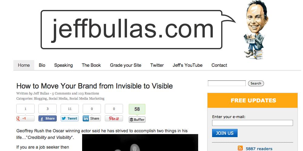 Jeff Bullas Inbound Marketing Blog