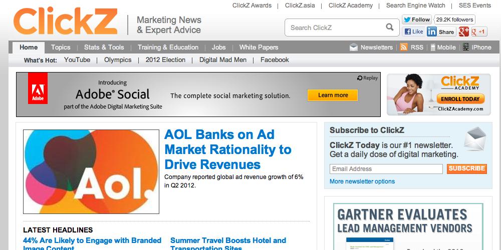 Clickz Inbound Marketing Blog