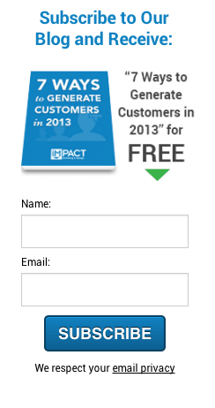 IMPACT - subscribe to our blog