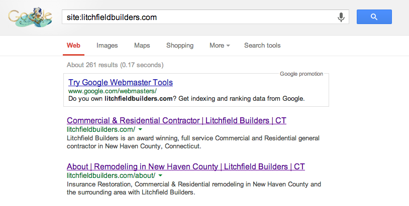 Litchfield Builders indexed pages