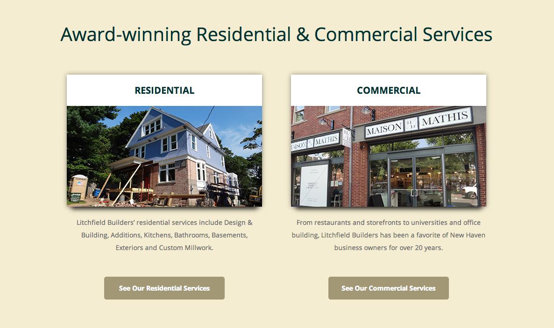 Litchfield Builders Service Pages