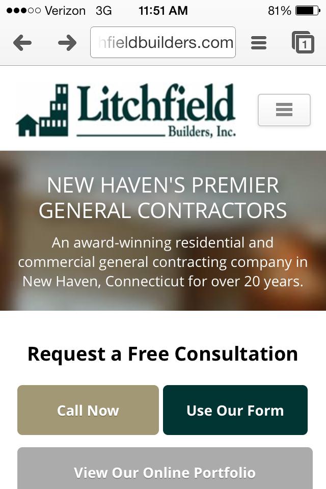 Litchfield Builders mobile 1