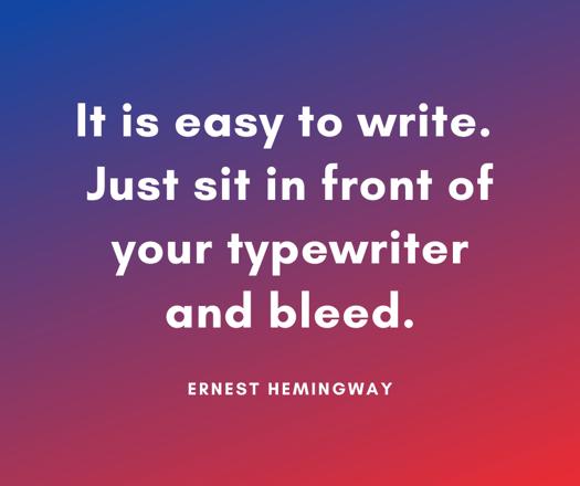 ernest-hemingway-writing