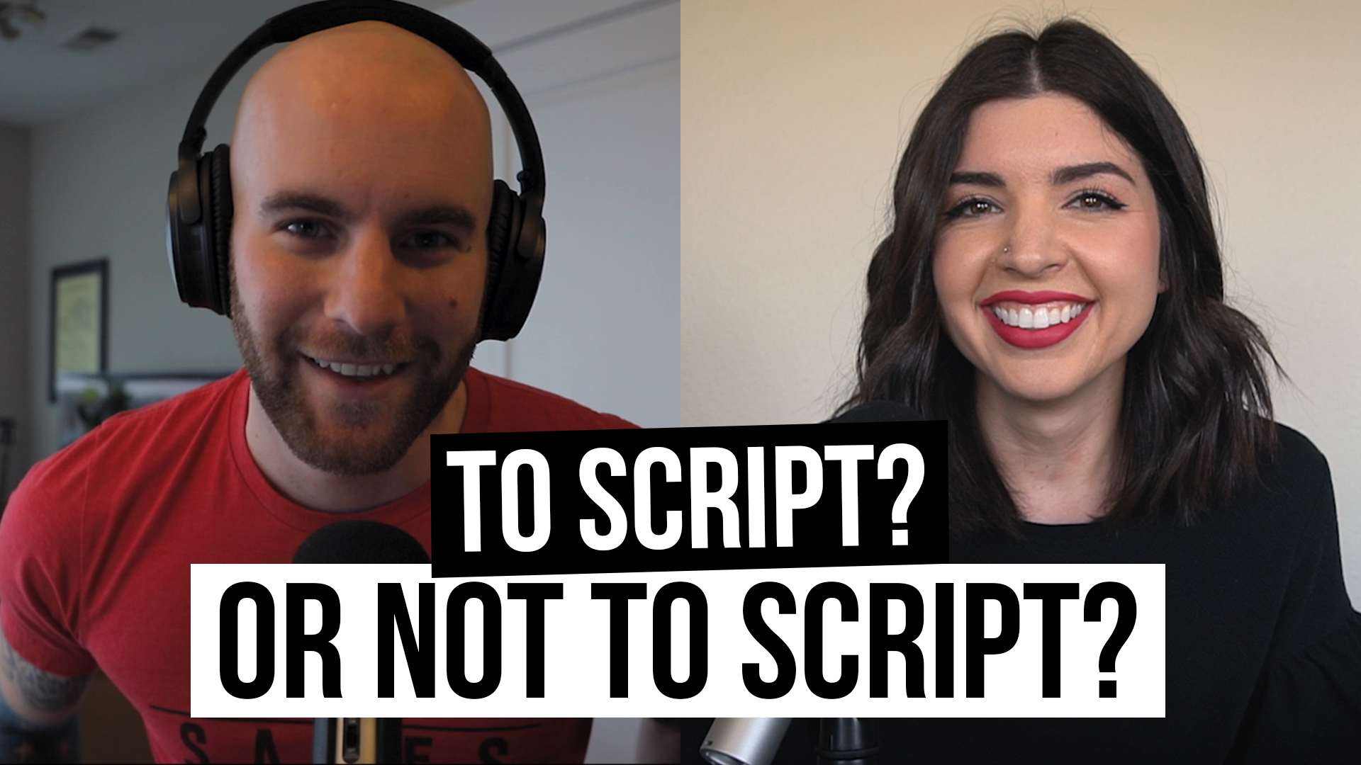 """""""To Script, Or Not To Script?"""" [Film School For Marketers Podcast, Ep. 4]"""