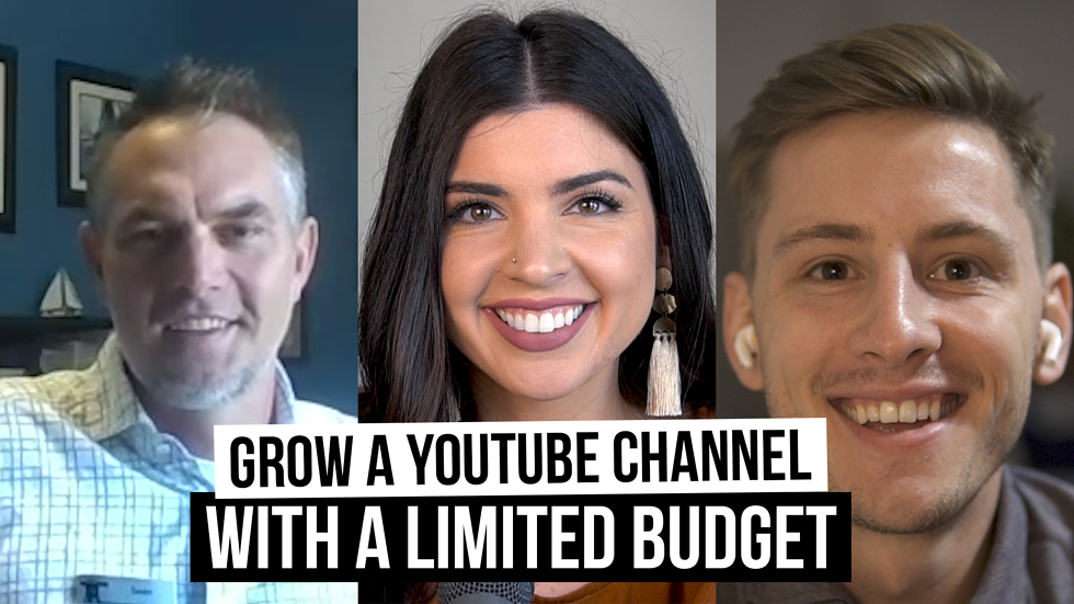 Grow a YouTube Channel with a limited budget [Film School for Marketers, Ep. 34]