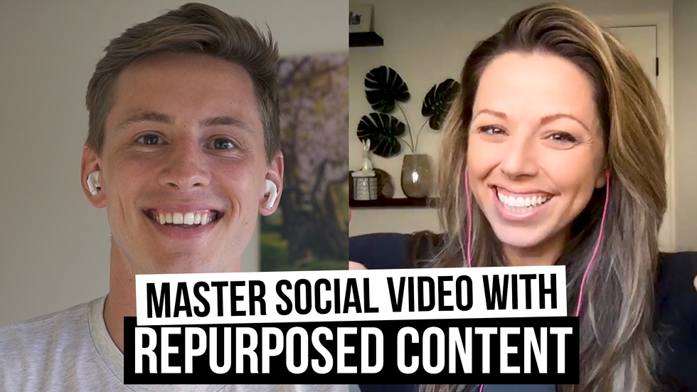 Mastering social video with repurposed video content (ft. Shaina Weisinger) [Film School for Marketers, Ep. 38]