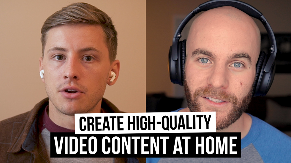 How to produce high-quality video content at home (Film School for Marketers, Ep. 41)