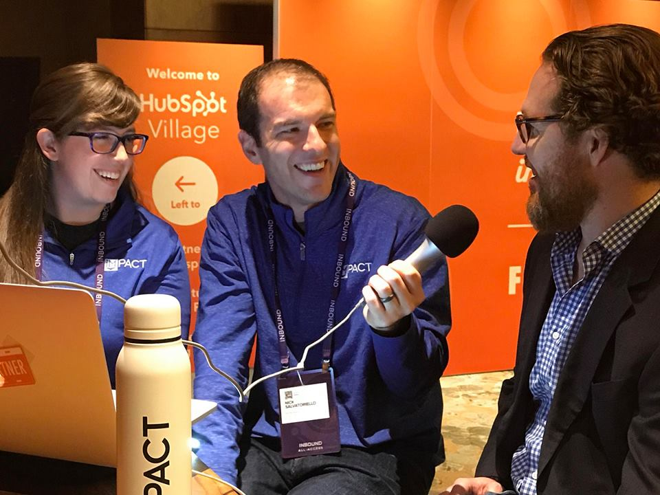 LIVE from #INBOUND18 with Special Guest: Dan Sally (The IMPACT Show Ep. 58)