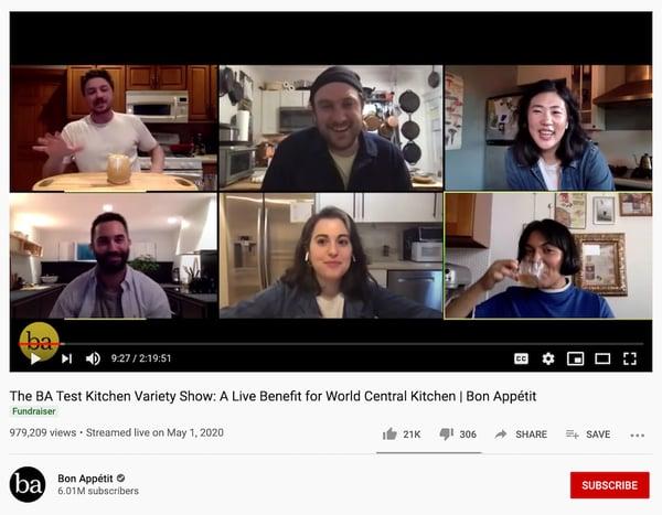 BA Test Kitchen Variety Show