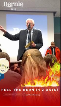 BernieSanders-Snapchat-GeoFilter
