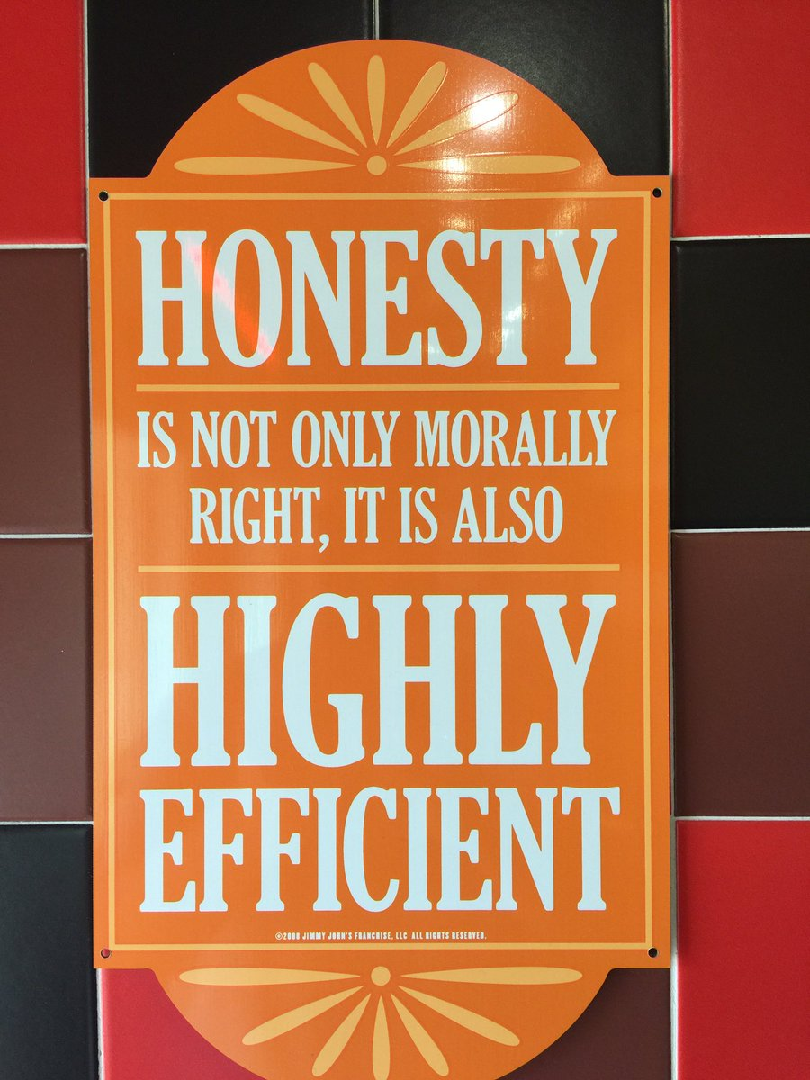 [if you see this turn on your images] jimmy johns honesty sign