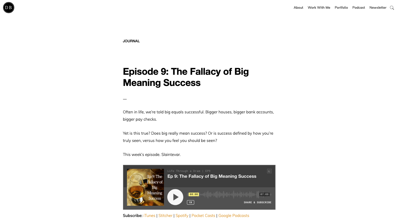 Danny Brown Blog