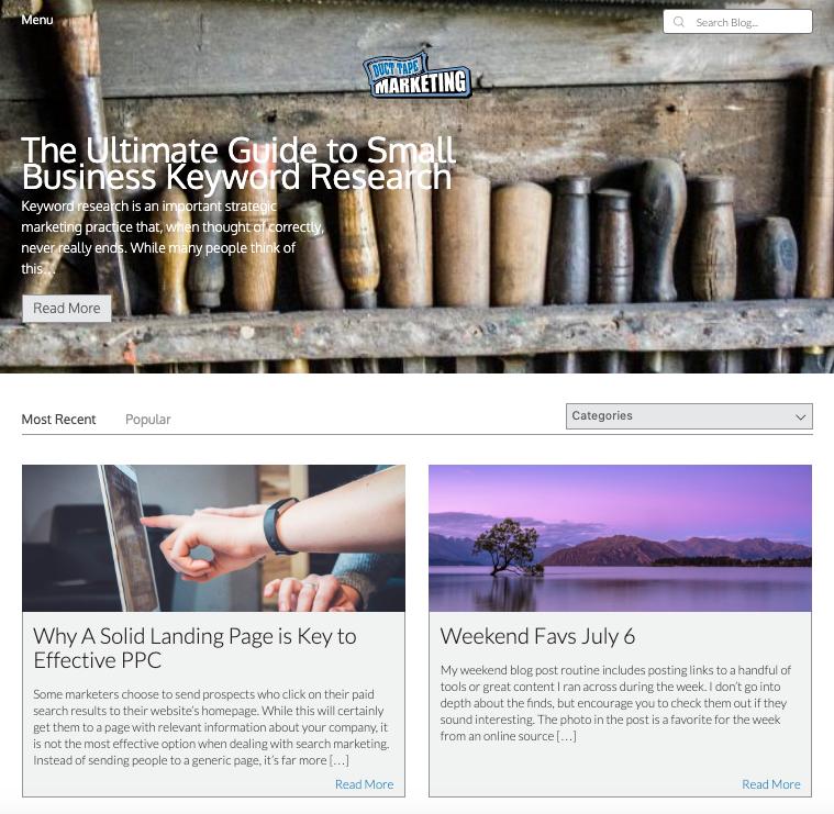 Duct Tape Marketing Blog