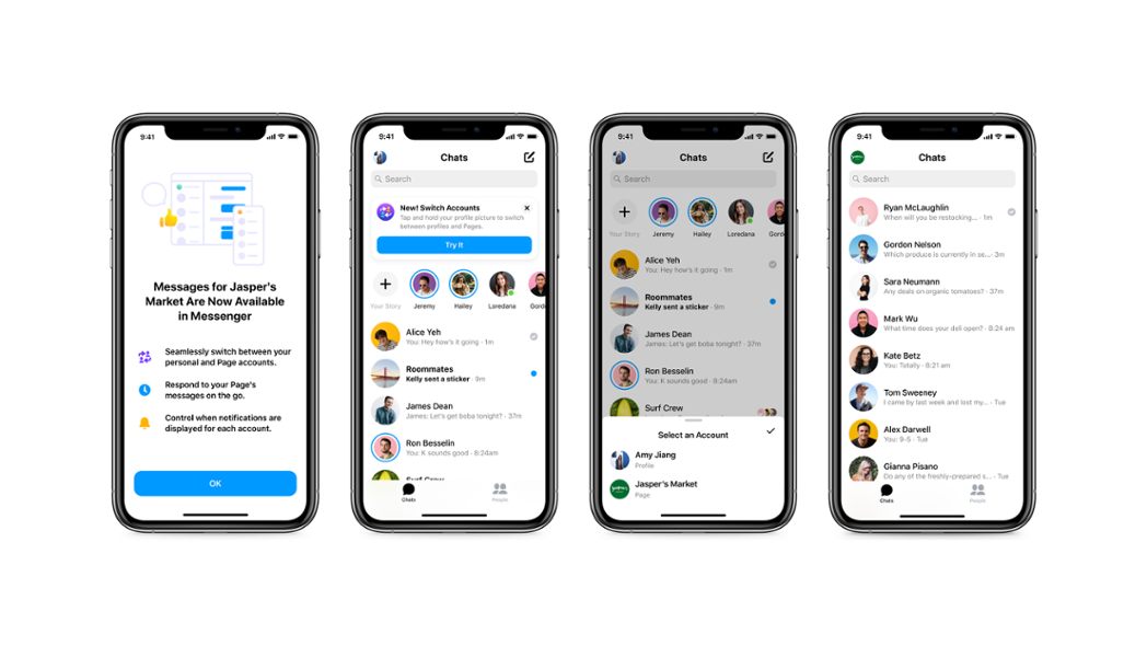 Facebook Messenger will soon allow you to toggle between business and personal accounts (finally!)