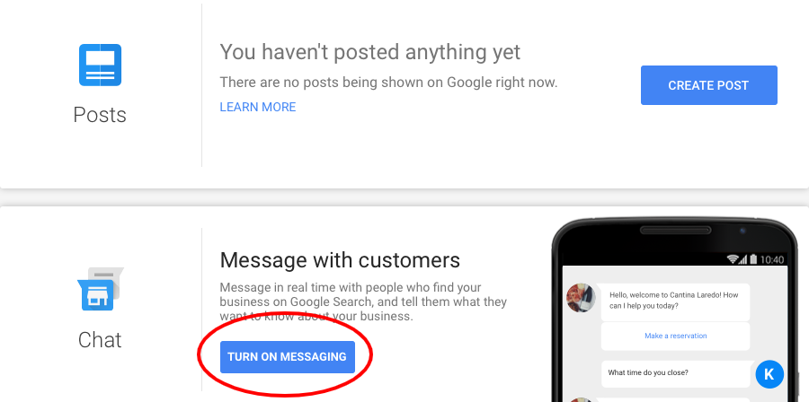 New Google Feature Allows People to Message a Business Directly Through The Search Engine