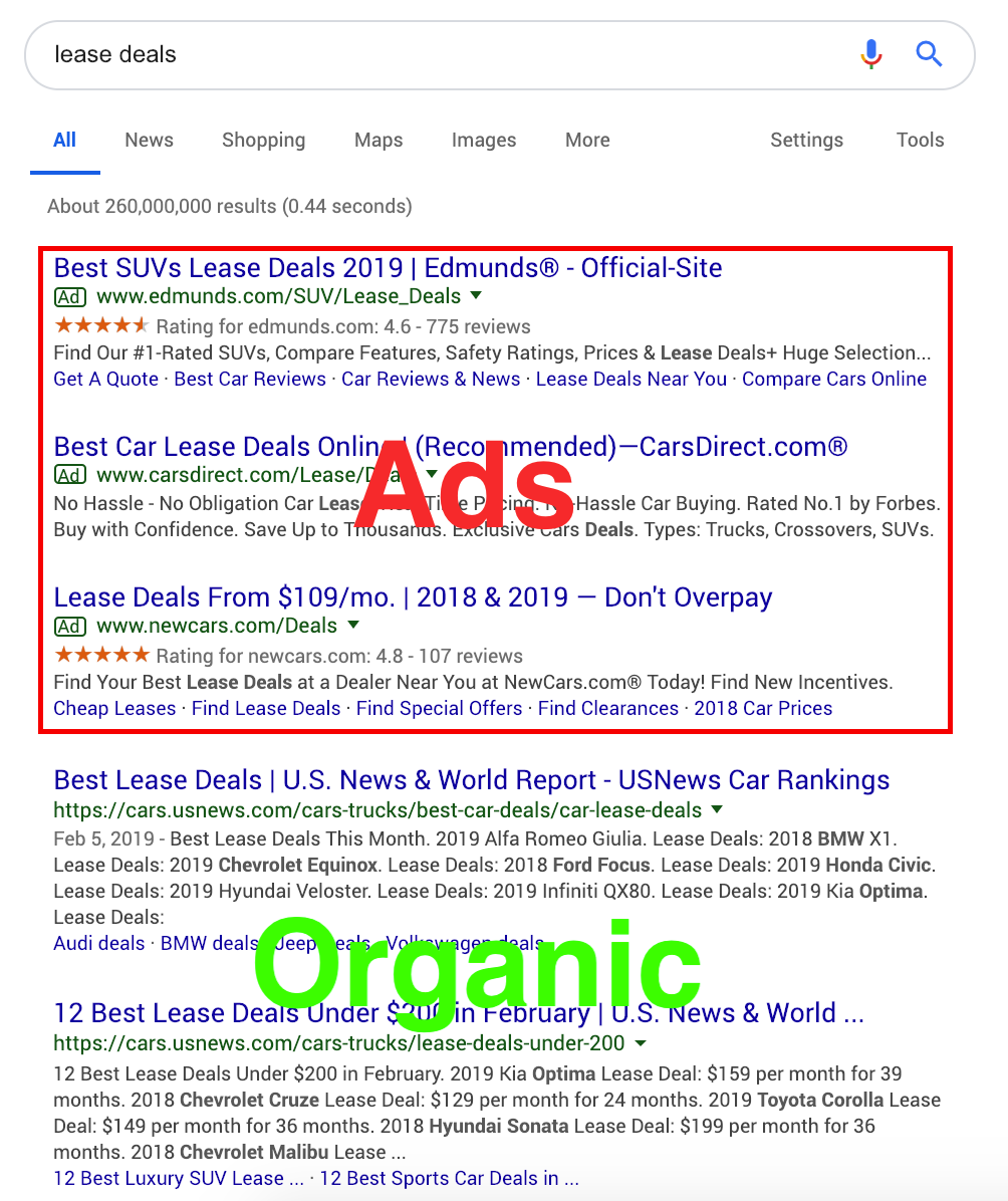 Google-Ads-Organic
