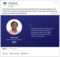 HackerEarth_LinkedIn_Post