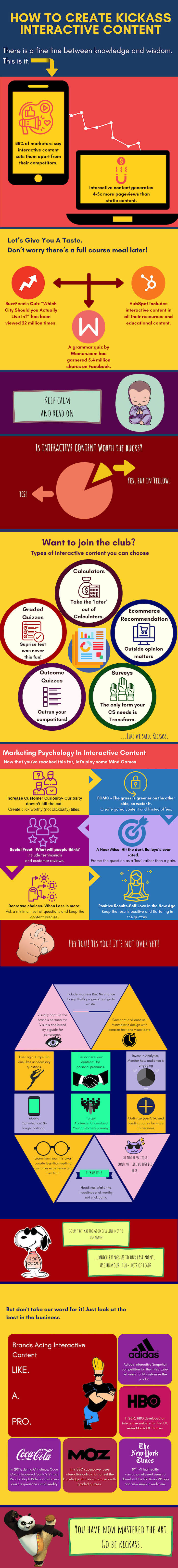 How to Create Kickass Interactive Content [Infographic]